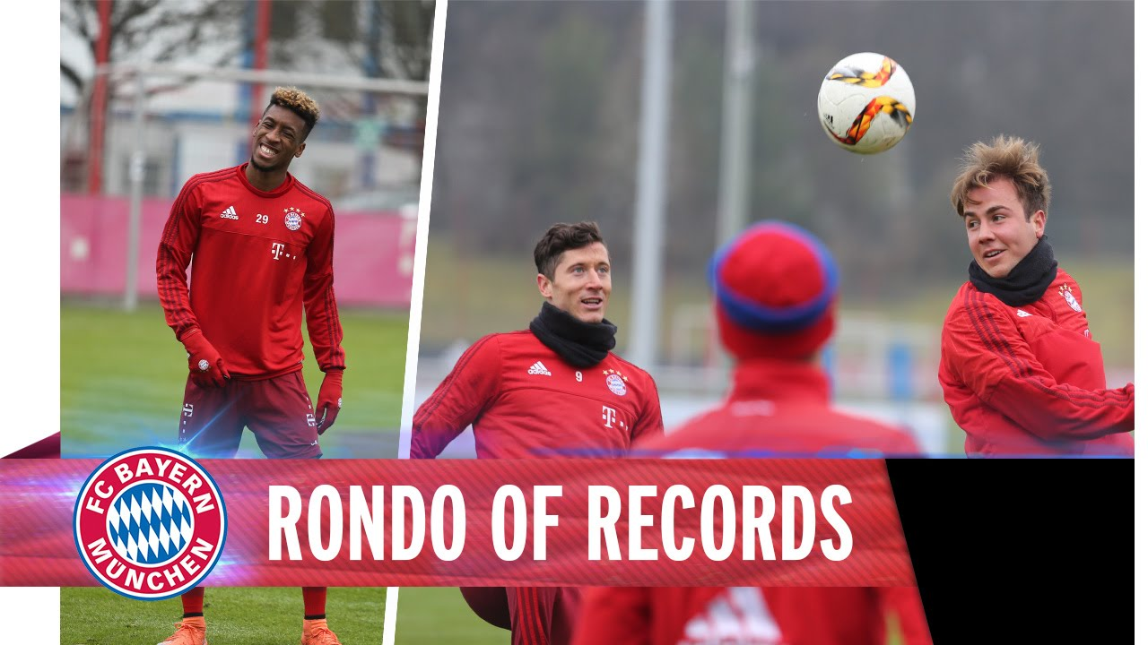 VIDEO: Bayern Munich shows how a rondo is done | Goal com