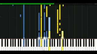Usher - Burn [Piano Tutorial] Synthesia | passkeypiano
