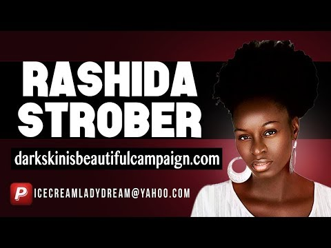 Queen of dark skin, Rashida Strober  tours Brooklyn & Harlem