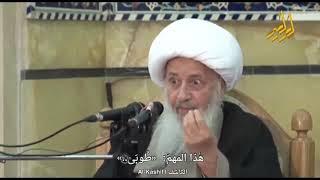 مقام المتمسكين بالولاية و البراءة في غيبة الإمام المهدي المنتظر عليه السلام | الشيخ الوحيد الخراساني