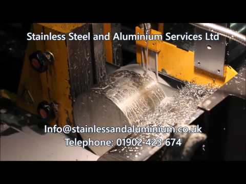 Aluminium Alloy 7075-T6 cut at Stainless Steel and Aluminium Wolverhampton