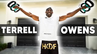 THE HALL OF FAME WORKOUT | TERRELL OWENS