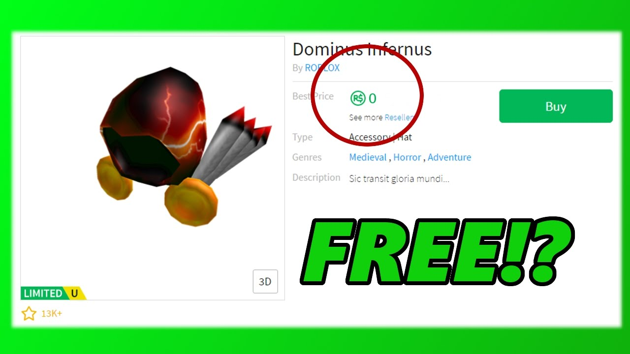 GETTING A FREE DOMINUS! - YouTube