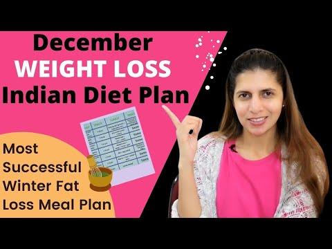 2 Weeks Indian Fat Loss Diet Plan | Indian Vegetarian Winter Meal Plan | Dec Weight Loss Challenge