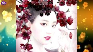 《三生三世十里桃花》曝水彩版海報 楊冪熱巴美出新境界