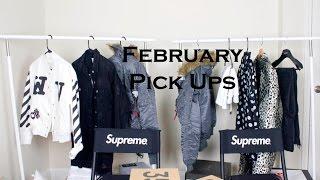 February Pick Ups: SAINT LAURENT, OFF WHITE, ACNE STUDIOS, YEEZYS, SUPREME, ASOS + More