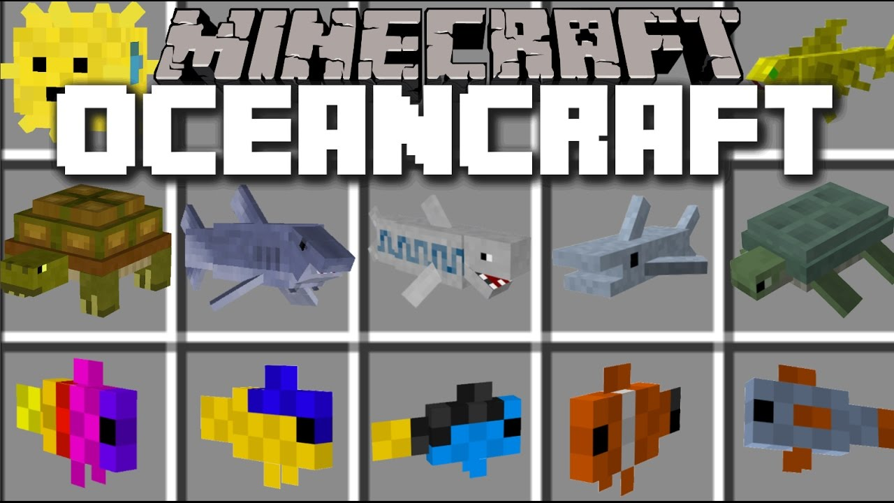 Minecraft oceancraft mod play with plenty of fish and for Plenty of fish search by name