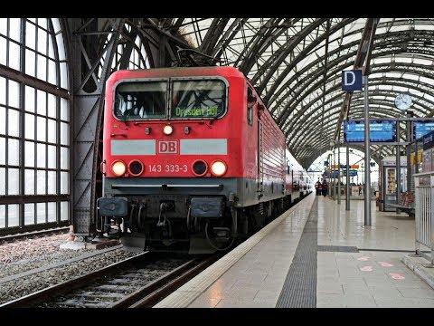 """Zugmitfahrt - RE18440 (RE18) """"Striezelmarkt-Express"""" Berlin Südkreuz - Dresden Hbf [16.12.2017]"""