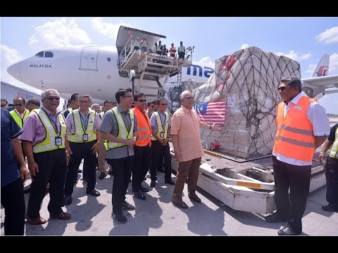 Malaysia sends third batch of aid shipment for Rohingya refugees