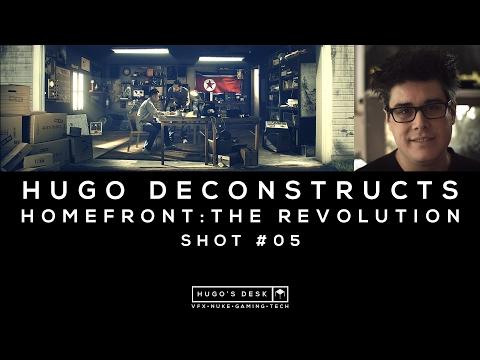 Hugo Deconstructs | Homefront: The Revolution | Garage Shot | Nuke Compositing Tutorial | 4K