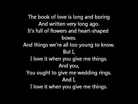 Peter Gabriel - Book Of Love (With Lyrics)