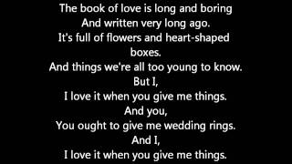 Peter Gabriel - Book of love (With Lyrics)