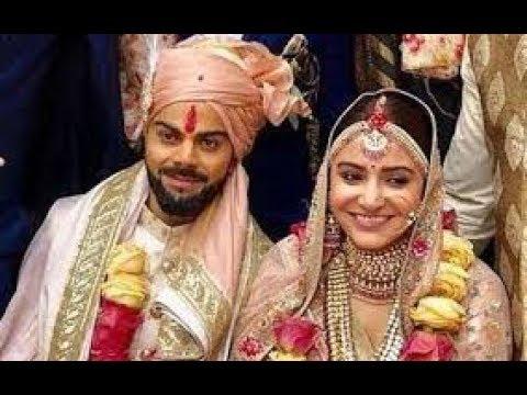 Virat Kohli and Anushka sharma wedding vedio