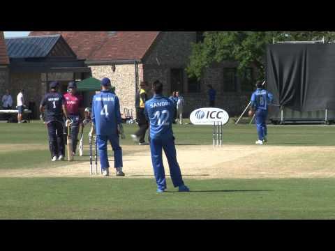 Norway Vs Italy ( ICC Div 1 , T-20 ) Sussex 2013