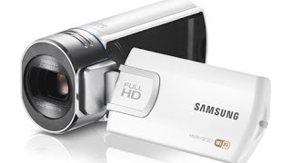 Samsung HMX F90 Camcorder Unboxing/Review/Test