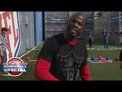 NFL Network Media Dodgeball Tournament: Total Access vs. NFL NOW   2017 Pro Bowl