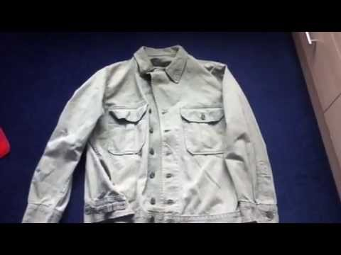 World War Two US Army 1st Pattern HBT Jacket
