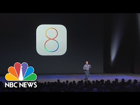 iOS 8 Introduces One-Handed Operation | NBC News