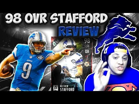 COMES DOWN TO THE FINAL DRIVE! (99 MATTHEW STAFFORD GAMEPLAY) - MADDEN 17 ULTIMATE TEAM