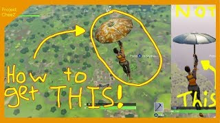 How To Get The Golden Camo Umbrella In Battle Royale || Fortnite Tutorial
