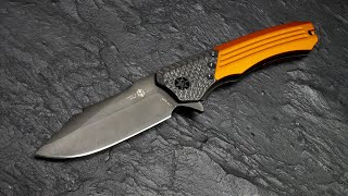 Heretic Knives Wraith | Manual Flipper Orange