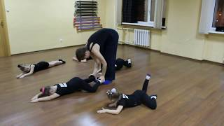 Видео-урок (I-семестр: декабрь 2017г.) - филиал Оборона, группа 5-8 лет, Современная хореография