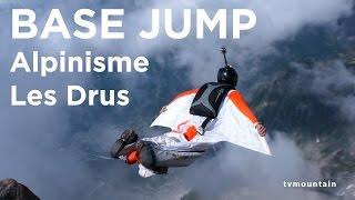 #2 Petit Dru voie normale Chamonix Mont-Blanc alpinisme premier base jump wingsuit - 9128