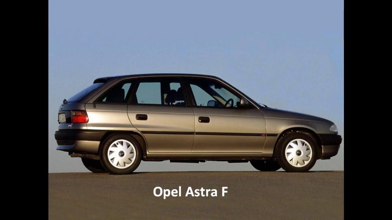 Opel Astra F opis bezpieczników - YouTube