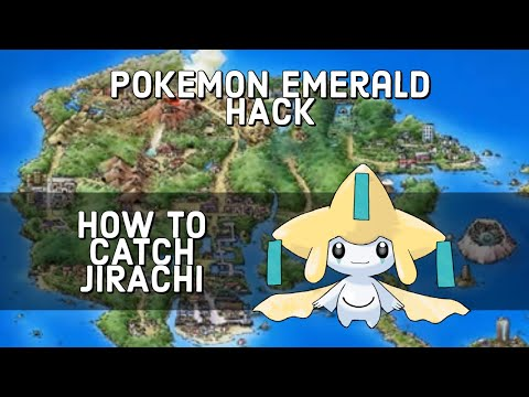 [HACK] How To Catch Jirachi At Meteor Falls (Pokemon Emerald)