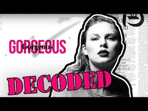 Taylor Swift Gorgeous Analysis   Lyrics...