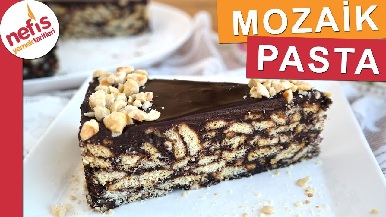 Bol Fındıklı Mozaik Pasta Tarifi Videosu