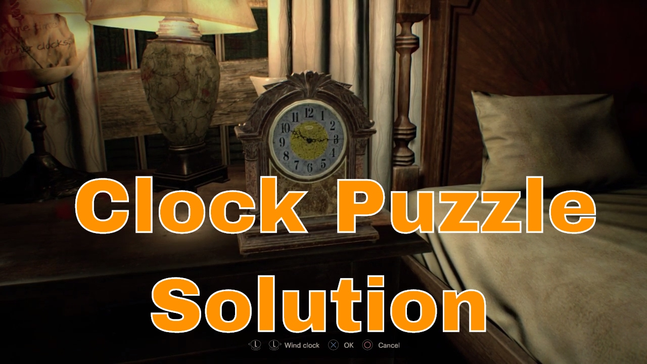 Resident Evil 7 How To Solve The Master Bedroom Puzzle Quick Guide Solution For The Red