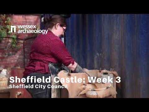Sheffield Castle excavations- Week 3