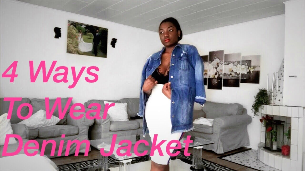 HOW TO STYLE : DENIM JACKET / LIFE IN SWEDEN : OUTFITS IDEAS FROM BOOHOO. 1