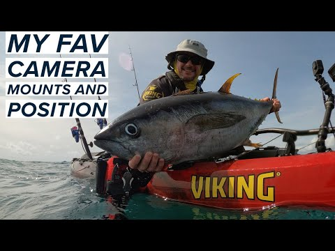 Best Camera Mount & Positions For Kayak Fishing