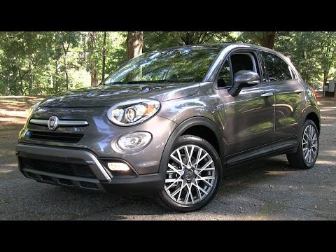 2016 Fiat 500X Trekking Start Up, Road Test, and In Depth Review