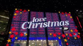 London Christmas Lights - Oxford St, St Christophers Place, Winter Wonderland