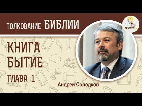 Книга Бытие. Глава 1. Андрей Иванович Солодков. Ветхий Завет