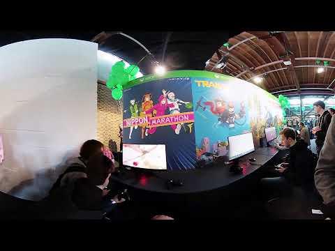 4K 3D 360° VR EGX Rezzed 2018 : id@xbox : Nippon Marathon