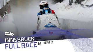 Innsbruck | BMW IBSF World Cup 2020/2021 - 2-Man Bobsleigh Heat 2 | IBSF Official