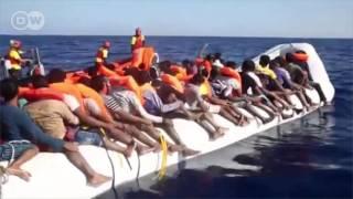 Wahamiaji 6,500 waokolewa katika pwani ya Libya.