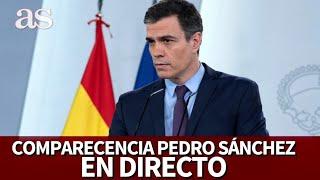 EN DIRECTO | Comparecencia de PEDRO SÁNCHEZ | Diario AS