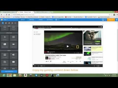 How To Create A Simple Website With Weebly & Tips To Earn Money With Google Adsense!