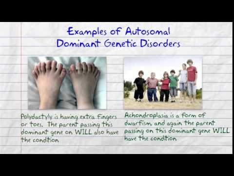 Dominant and Recessive Genetic Disorders