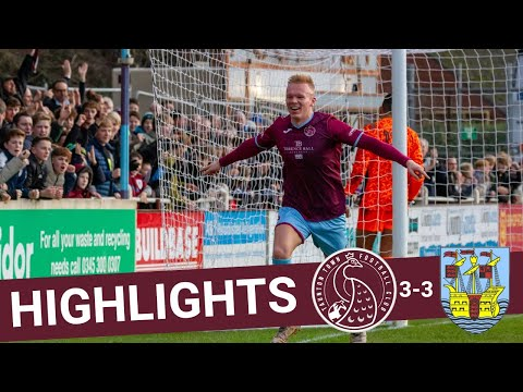 Extended Highlights: Taunton Town 3-3 Weymouth
