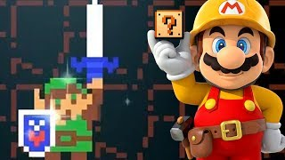Super Mario Maker 2 🔧 The Tale of Link 🔧 Xyloba