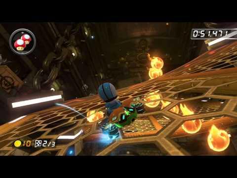 Bowser's Castle - 1:58.363 - sG★Quebec★ (Mario Kart 8 World Record)