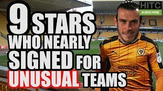 9 Stars Who Nearly Signed For Unusual Teams