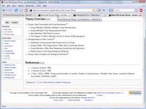 Wiki Help Video Create an Article