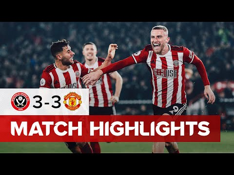 Sheffield United 3-3 Manchester United | Premier League highlights